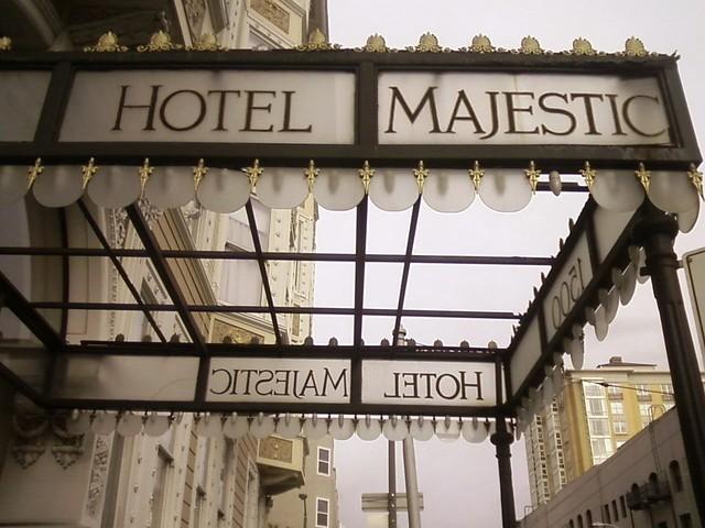 Hotel Majestic Sutter Street San Francisco