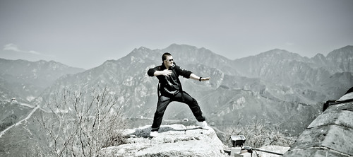 Bruce Lee Great Wall of China