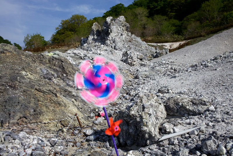 青森2012 恐山 風車