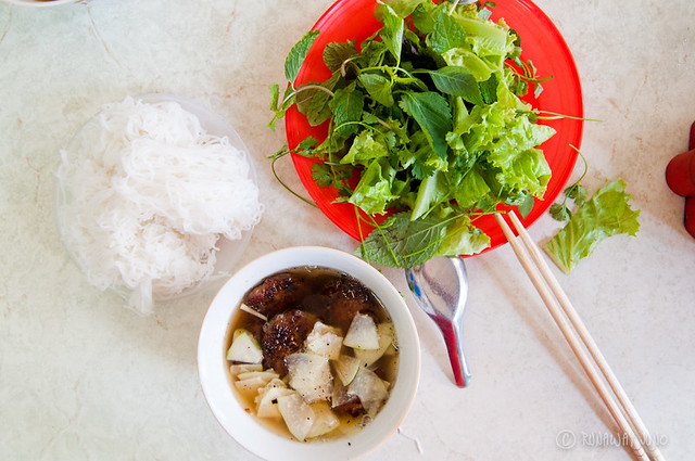 Bun Cha Hanoi Ingredients