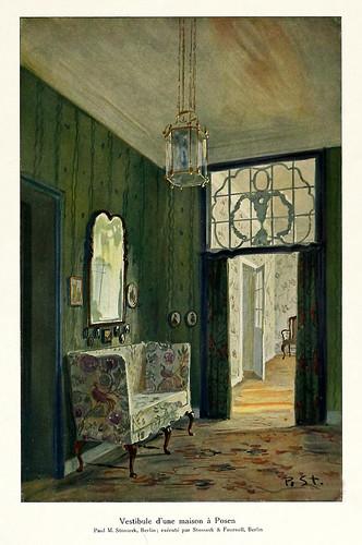 012-120 intérieurs en couleurs…-Principios siglo XX