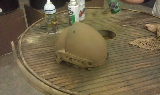 how to paint snakeskin camo on your tactical gear, gear whores  anonymous, tactical gear, airsoft tactical gear, crye precision air  frame helmet, TMC Airsoft air frame helmet knockoff, knockoff crye  precision air frame helmet,