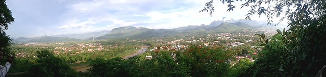 Luang Prabang Panorama - View from Phou Si