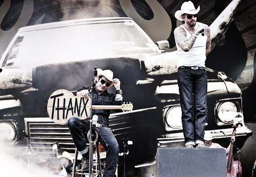 Pinkpop 2012 mashup foto - Bedankt! En we zullen het nooit, nooit vergete