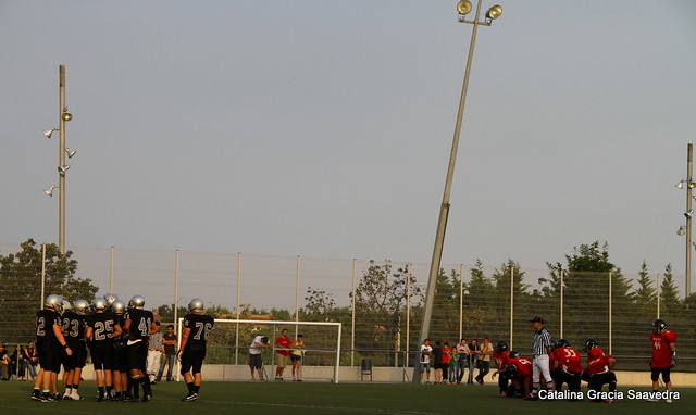 Badalona Dracs-Murcia Cobras.LNFAJr.