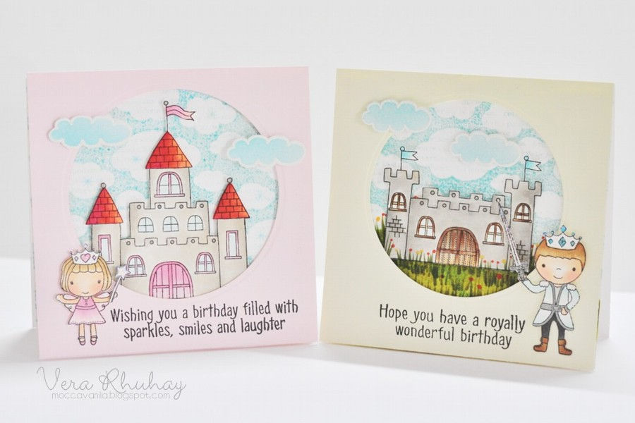 prince&princess birthday set