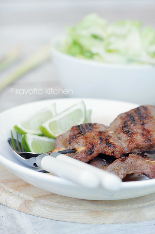 Lemongrass Ginger Marinade