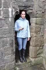 Little doors at Caernarfon castle