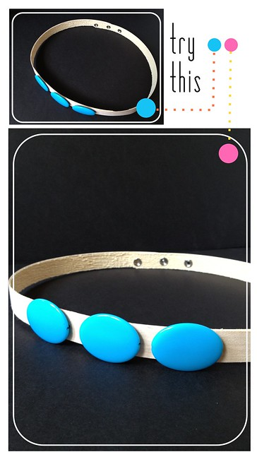 Try This - Wood Veneer + Turquoise Belt
