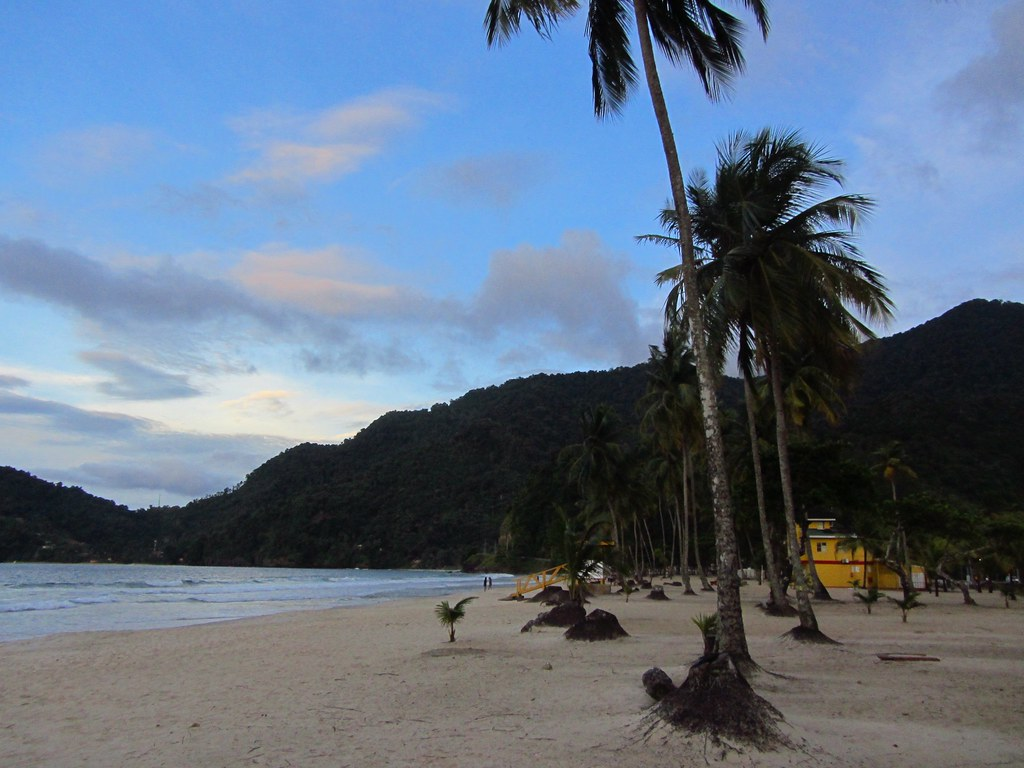 Greetings From Trinidad, W. I., Tyrico Bay Caribbean Islands