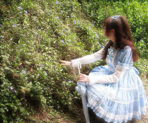 classic gothic lolita dress