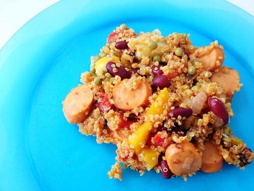 paella quinoa