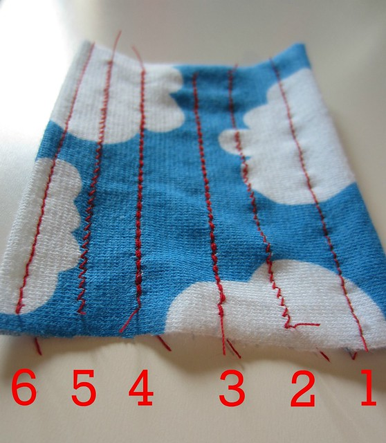 test stitches