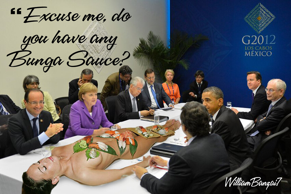 G20 SUSHI (ZH CAPTION CONTEST)