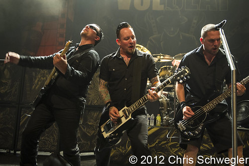 Volbeat - 06-19-12 - The Fillmore, Detroit, MI