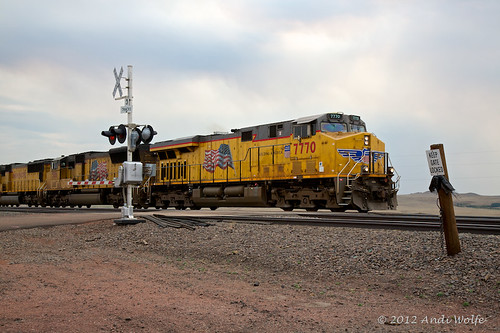 Union Pacific 7770 by andiwolfe