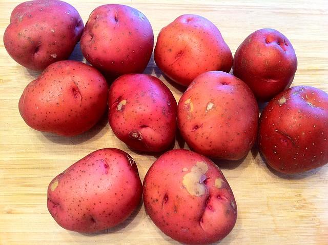 10 Medium Red Boiling Potatoes