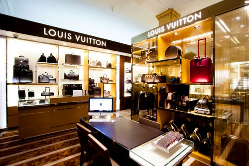 Harrods Opens Its Own Louis Vuitton Store