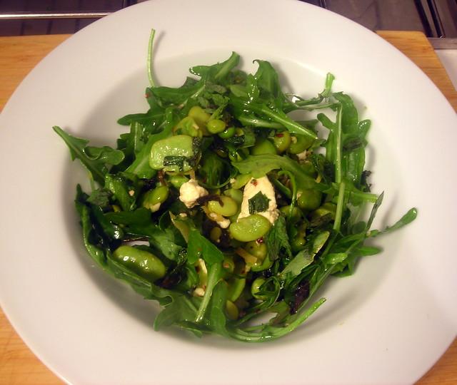 Fava Bean, Garlic, And Herb Crostini Recipe — Dishmaps