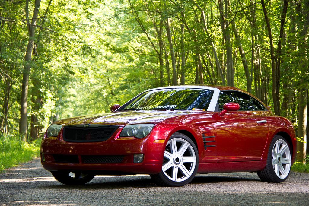 2004 Chrysler Crossfire 44k miles  Clean  Red