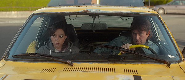 Aubrey Plaza and Mark Duplass get dangerous in SAFETY NOT GUARANTEED.
