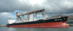 vehicle, ship, bulk carrier, watercraft, container ship,