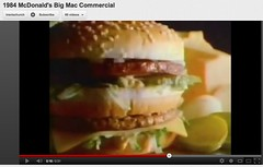 1984 McDonald's Big Mac Commercial - English