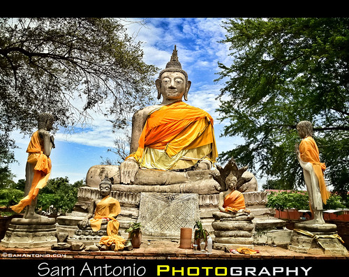 Buddha Power in Ayutthaya, Thailand by Sam Antonio Photography