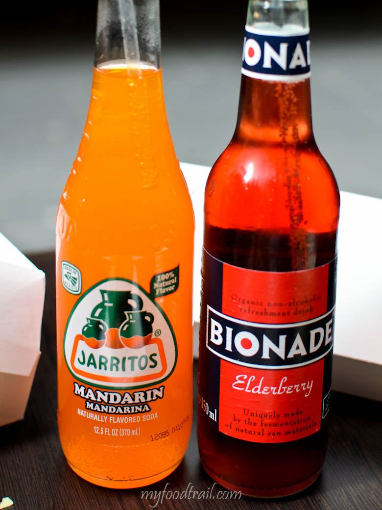 Dog Nation - Jarritos Mandarin & Bionade Elderberry