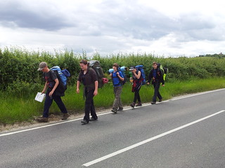 Approaching East Checkpoint Sunday