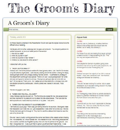 grooms blog 5