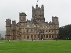 Highclere Castle (aka Downton Abbey in the TV series)