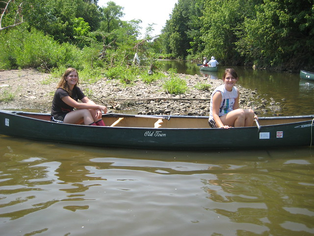 (left) Kara Scheerhorn, MCWCC Watershed Coordinator w/ friend Mary Scully