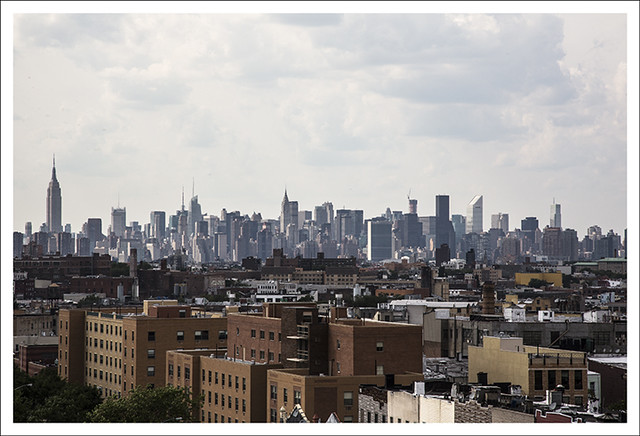 2012-07-03 Manhattan Skyline From Bushwick, Brooklyn