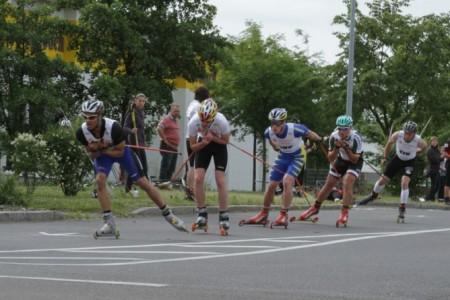 Jak se závodí na kolečkových lyžích - Eilenburger Rollski Lauf