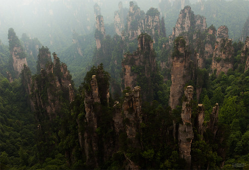 china travel sunset canon landscape asia large surreal fantasy canon5d cinematic tones jero azie zhangjiajie wulingyuan 053 tanzi 湖南张家界国家森林公园