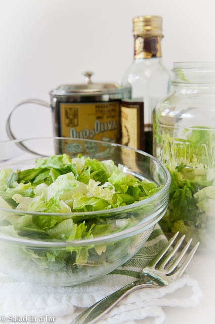 How To Vacuum-Pack Salad in a Jar for Less