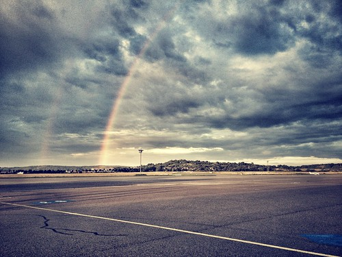 #rainbow #eavig #igers #iphone #igdaily #airport #instagood #instamood #iphonesia #instadaily #iphoneonly