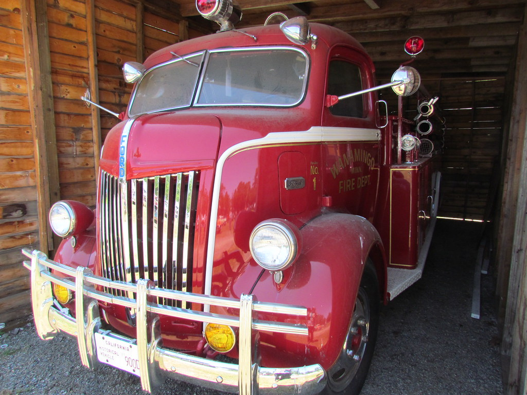 1940s Ford Coe Fire Truck A Photo On Flickriver 1949