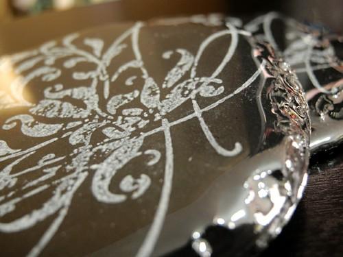 Stamped Slate Coasters