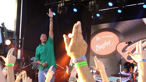 Chali 2na at Ottawa Bluesfest 2012