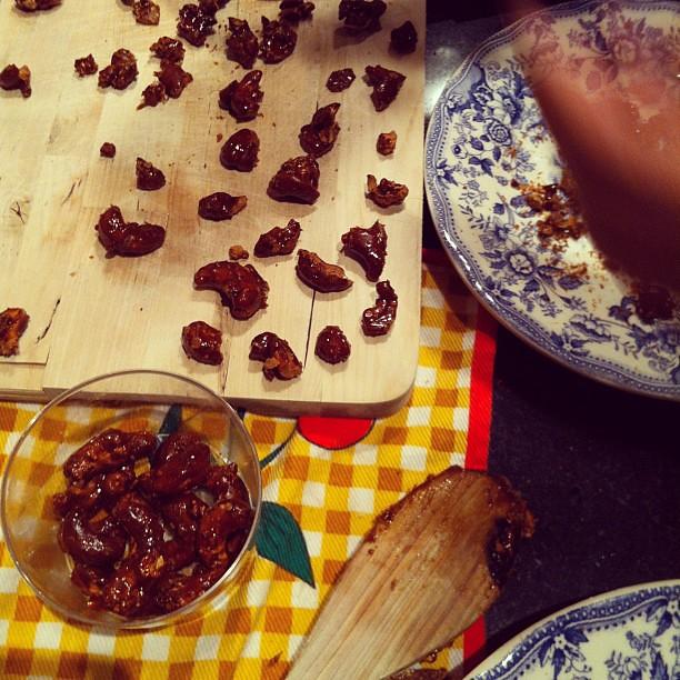 Caramelizar cajus