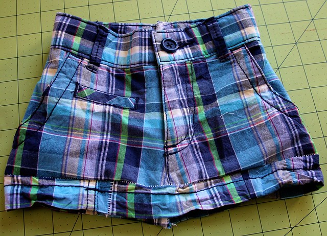 4t Shorts to 9 months Skirt-July 2012  12