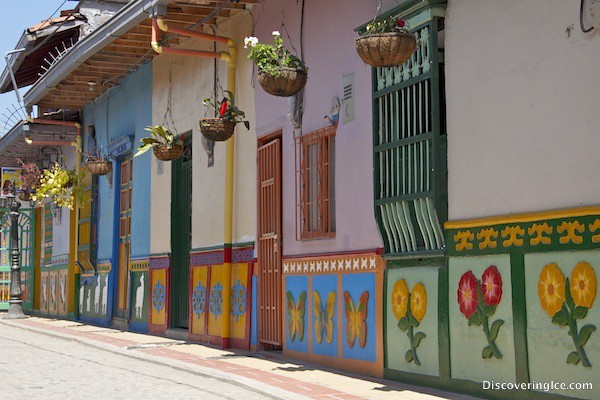 The colours of Guatapé, Colombia