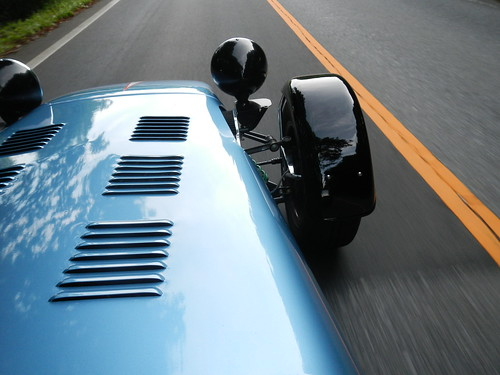 CATERHAM SUPER 7 On The Road
