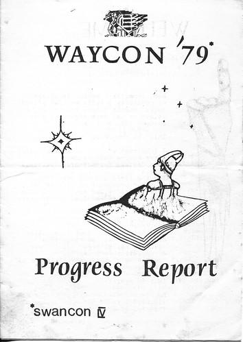 SwanCon 4 progress report cover (p1)