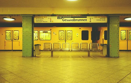 U-Bahn Berlin. Gesundbrunnen. Berlin. Germany