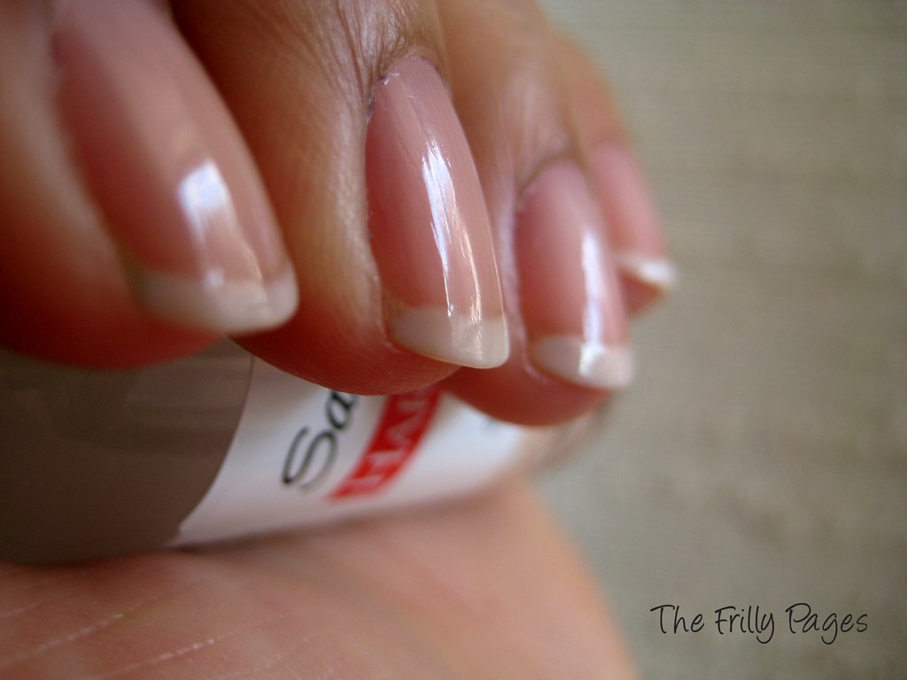 The Not-So-French Manicure