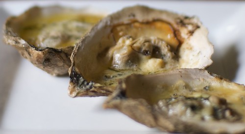Grilled Scotch Oysters
