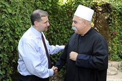 Julis welcomes American Ambassador to Israel with Druze hospitality and Israeli diversity.